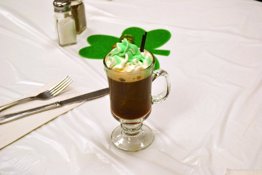 On St. Patrick's Day many enjoyed a bit of Irish coffee which was available at VFW Calabash Post #7288.