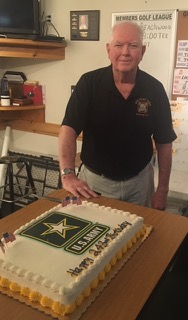 Dan Kossler, VFW Calabash Post #7288, at the Army Birthday and Flag Day celebration on June 14th, 2018.